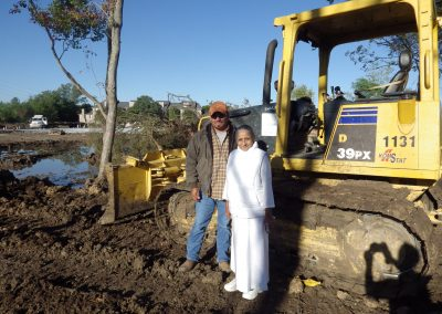 Sister and Land Developer