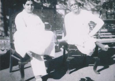 Brahma Baba and Mamma