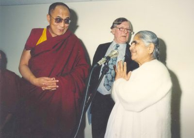 Dadi Janki and Dalai Lama