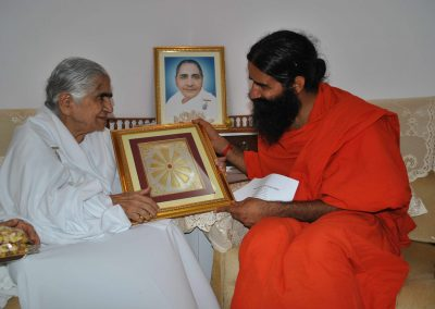 Dadi Janki and Swami Ramdev