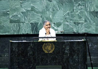 Dadi Janki at the United Nations