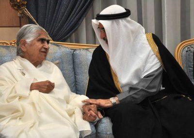 Dadiji Janki and Deputy Prime Minister of Bahrain